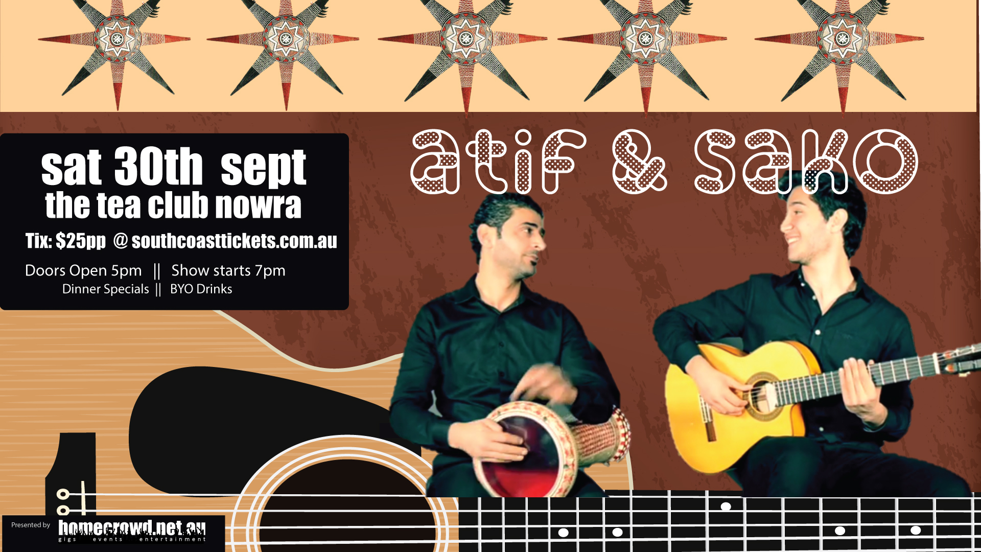 A private evening with Atif and Sako