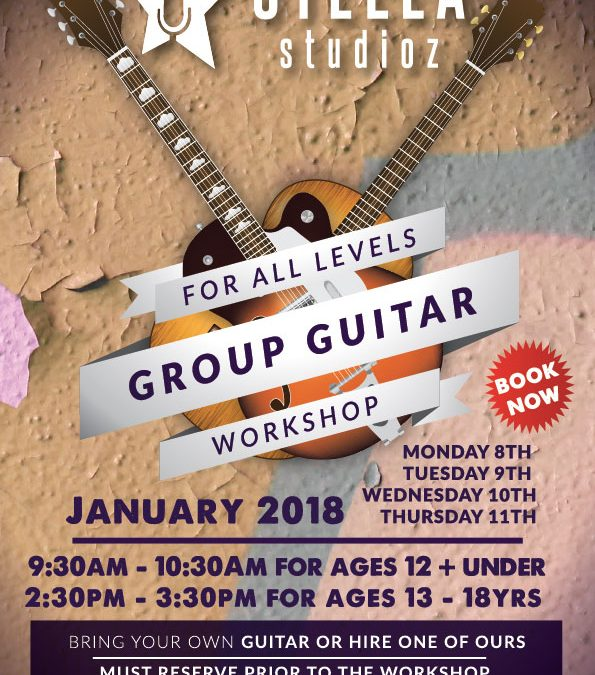 Stella Studioz- Group Guitar Workshop