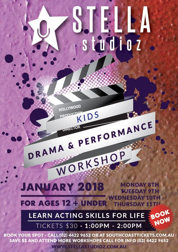 Stella Studios- Kids Drama and Performance Workshop