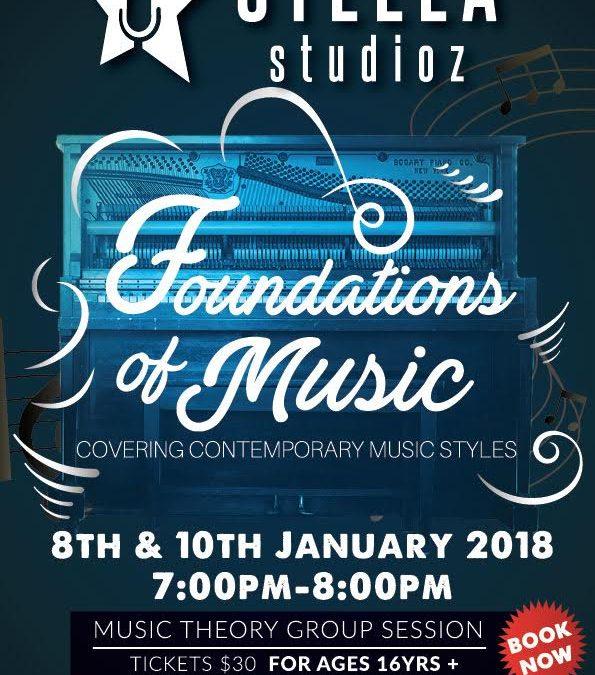 Stella Studioz- Foundations of Music