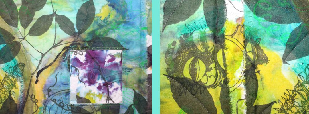 Exploring Print and Stitch with Linda Balding