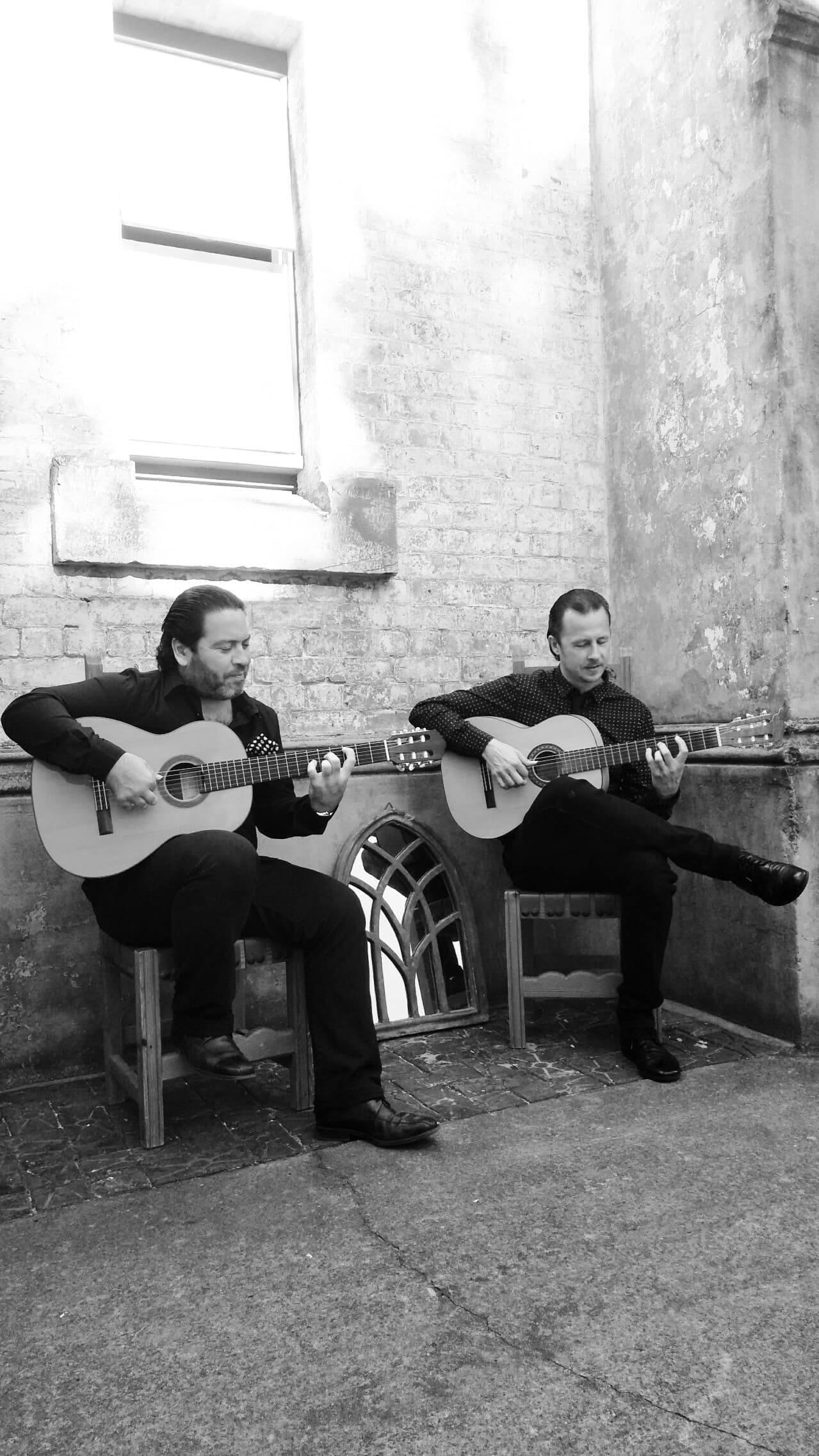 GUITARRA FLAMENCA - PACO LARA (SPAIN) & DAMIAN WRIGHT (AUS) @ Tomerong