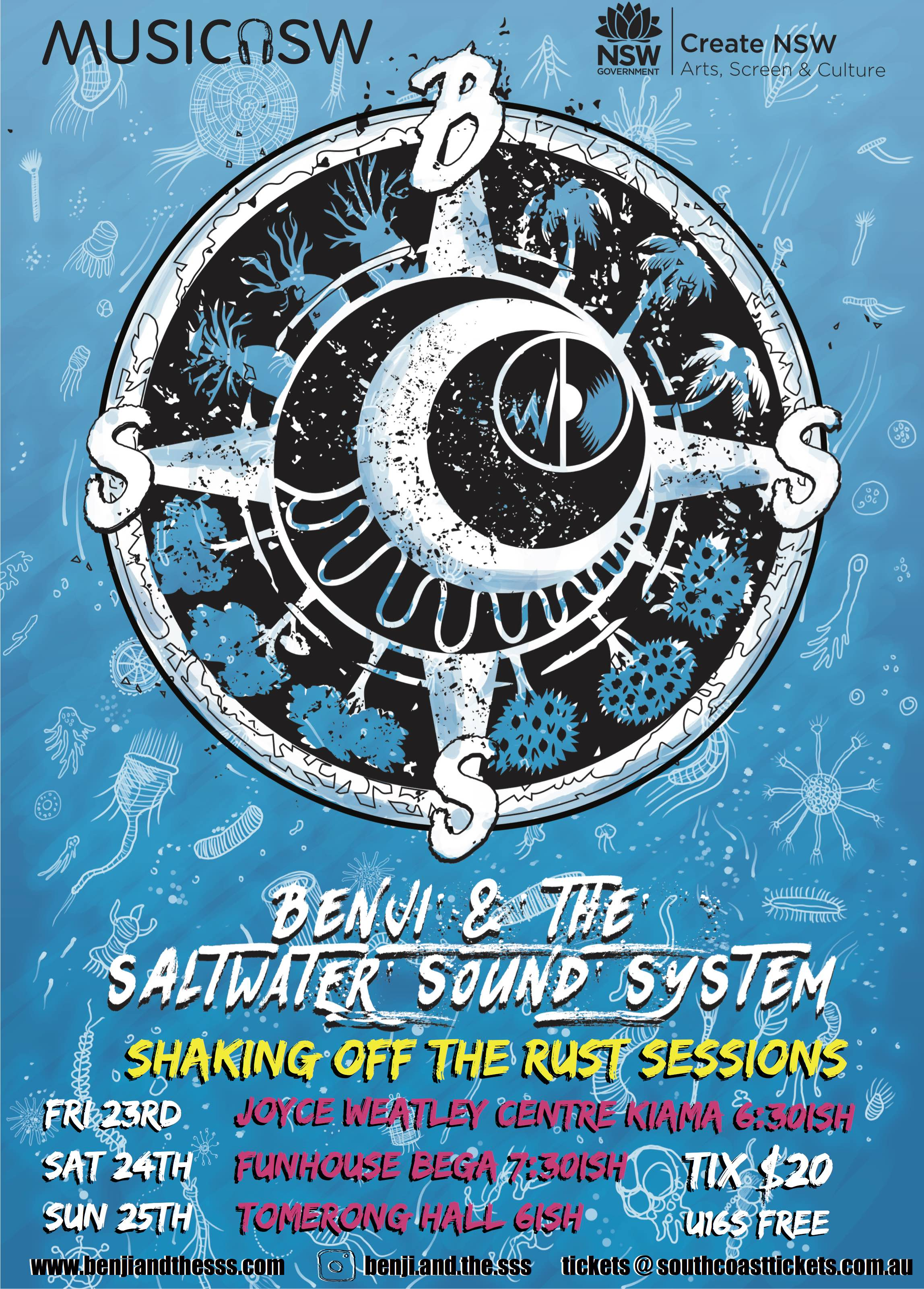 Benji & the Saltwater Sound System at Kiama
