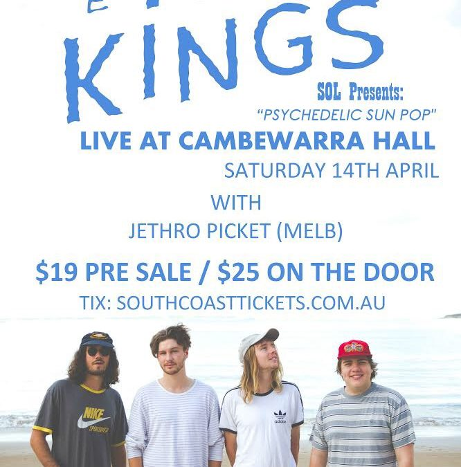 Kava Kings @ Cambewarra Hall