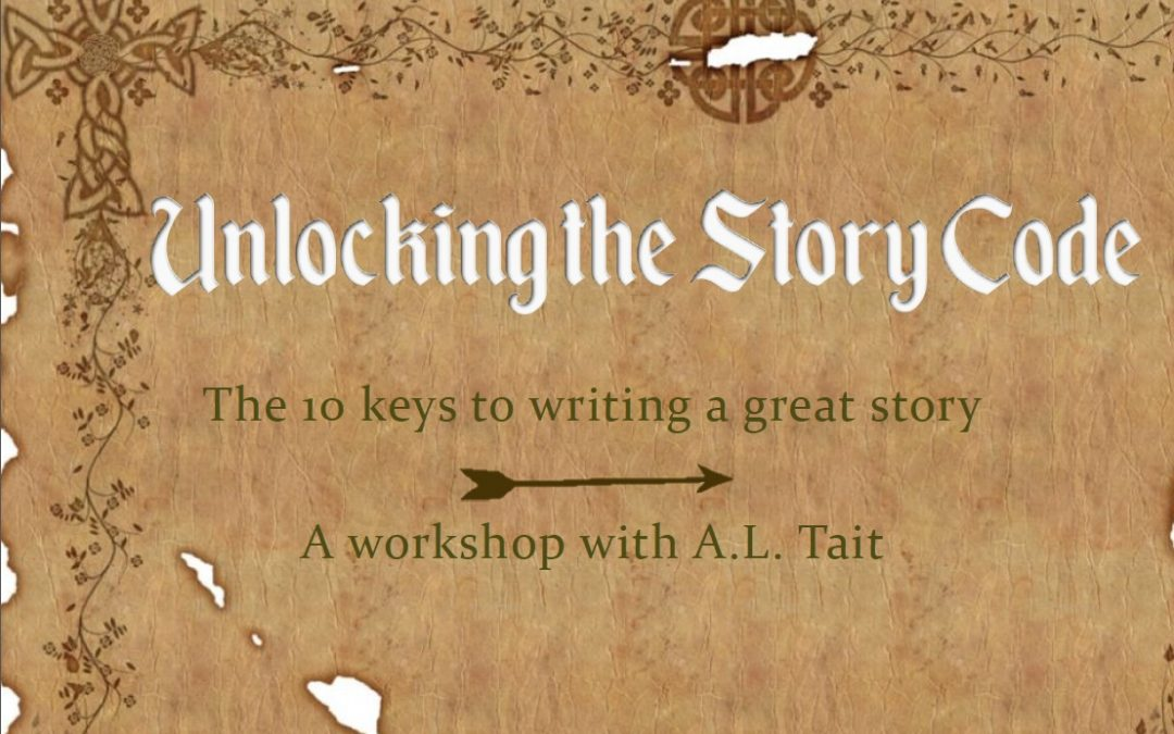 Unlocking the Story Code: Workshop for 9-11yrs w. A.L. Tait