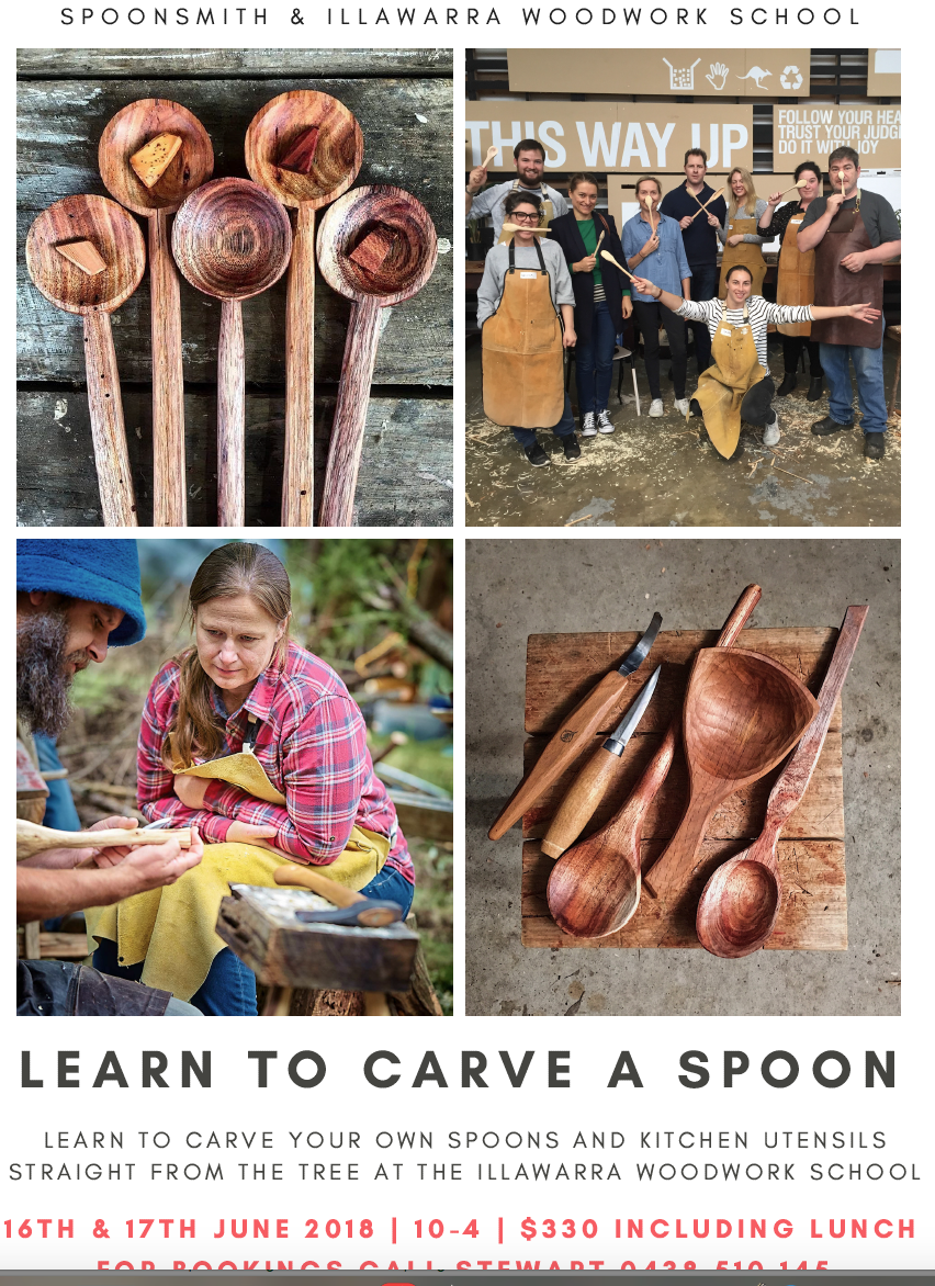 Learn to Carve a Spoon