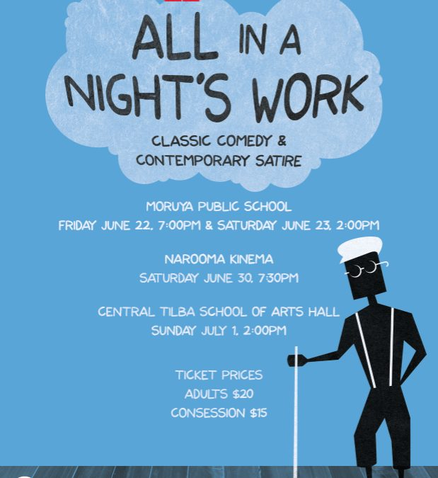 All in a Night's Work @ The Kinema, Narooma- Red Door Theatre