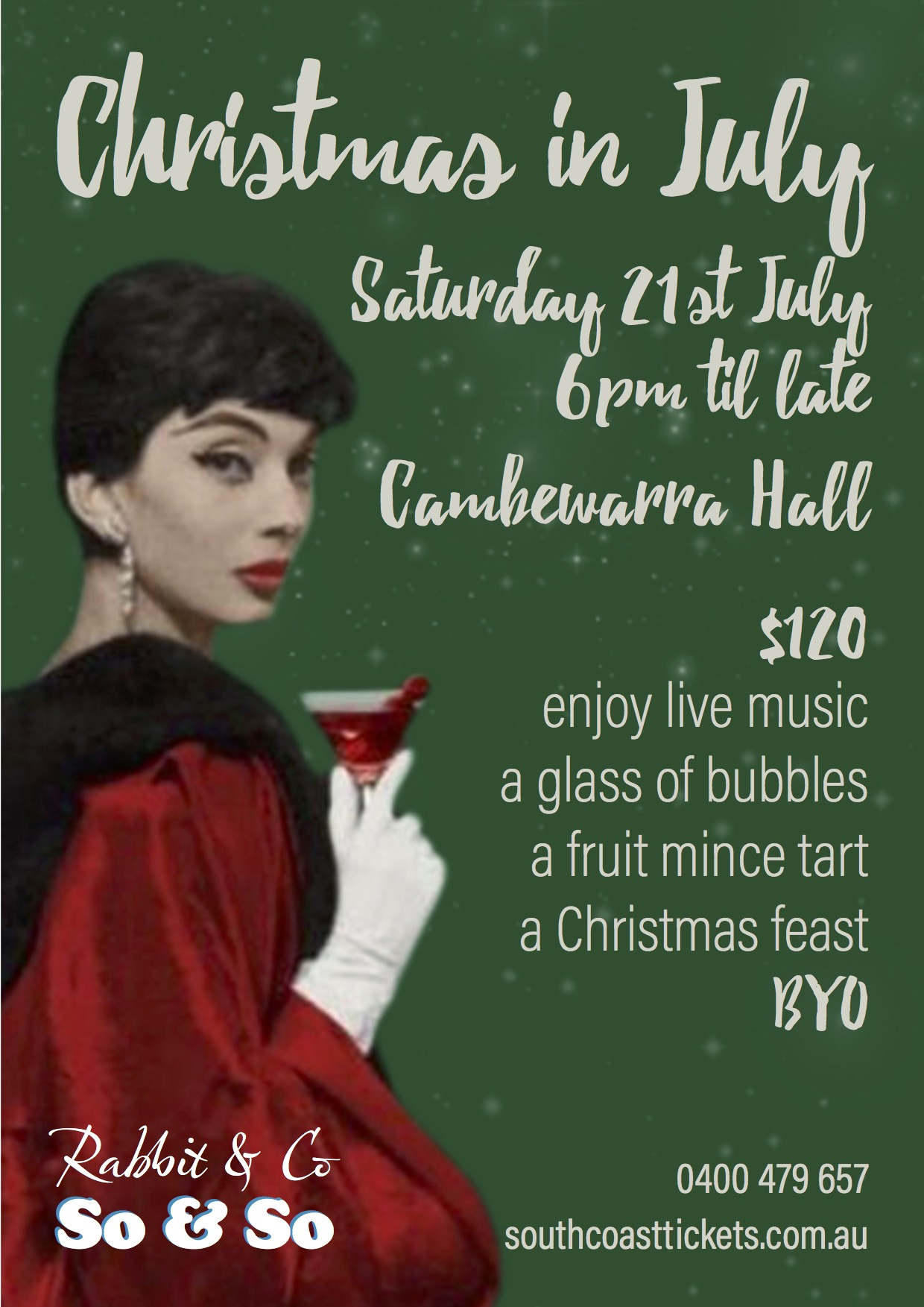 'Christmas in July' a feast of food and music