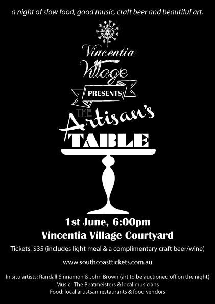 Artisan's Table @ Vincentia Village Courtyard