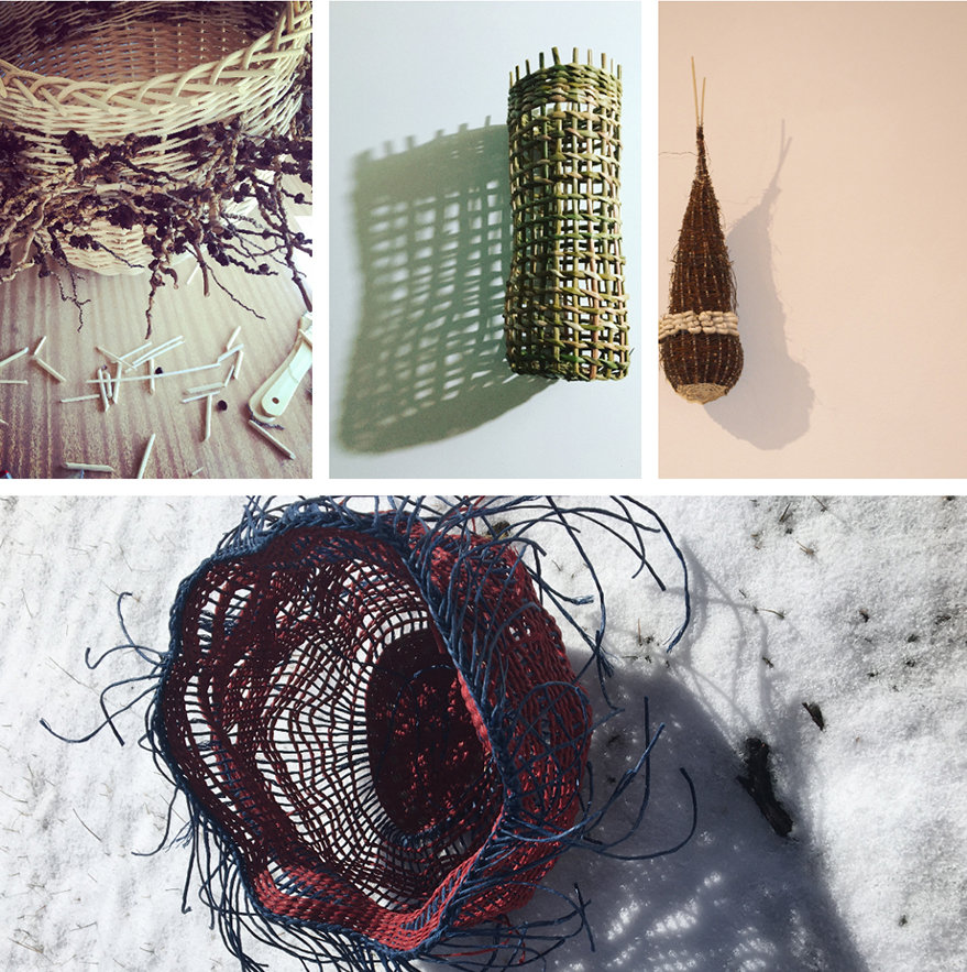 Basket Weaving with Natural Materials with Lissa-Jane de Sailles
