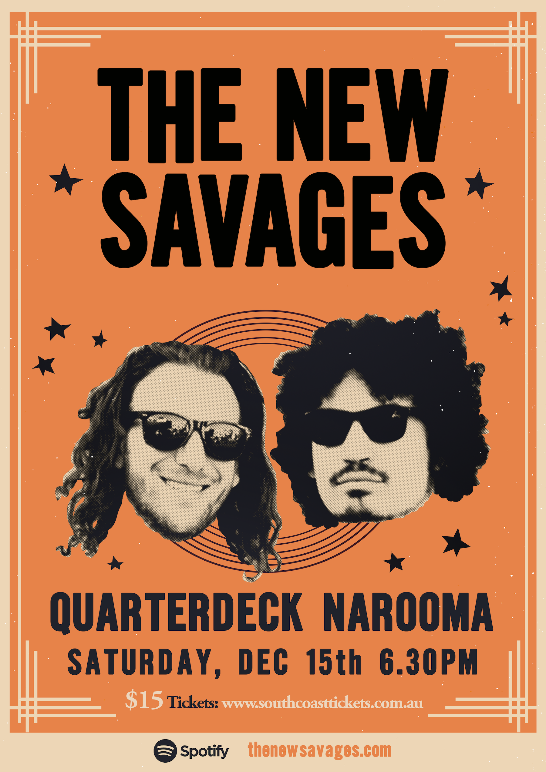 The New Savages @ Quarterdeck, Narooma