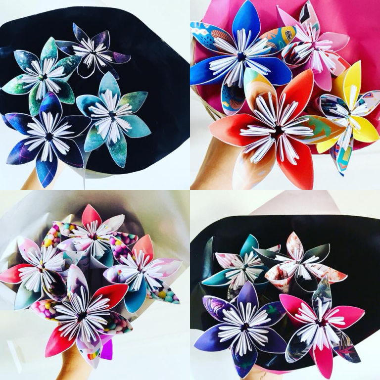 Origami Flower Workshop South Coast Tickets
