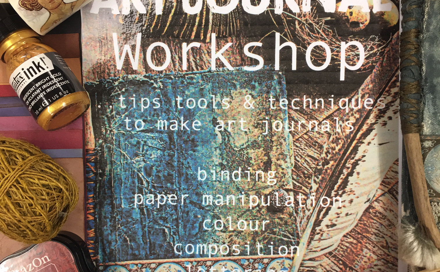 Journal Making Art Experience | South Coast Tickets